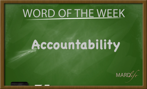 Accountability (Word For The Week)