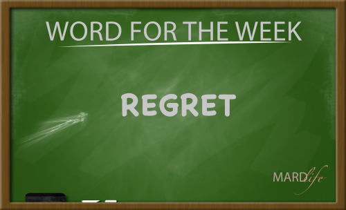 Regret (Word For The Week)