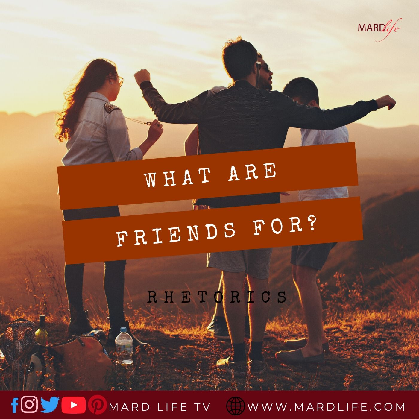 What Are Friends For? – RHETORICS