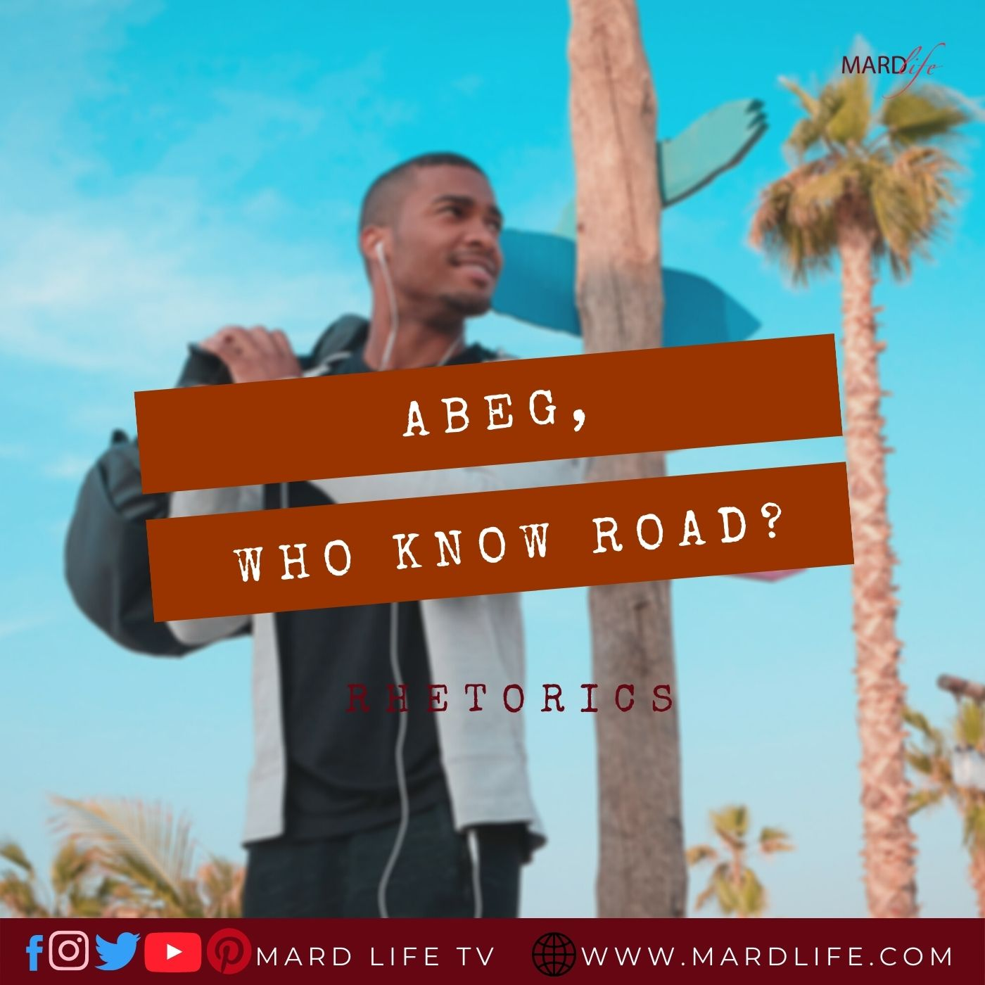 Abeg, Who Know Road?