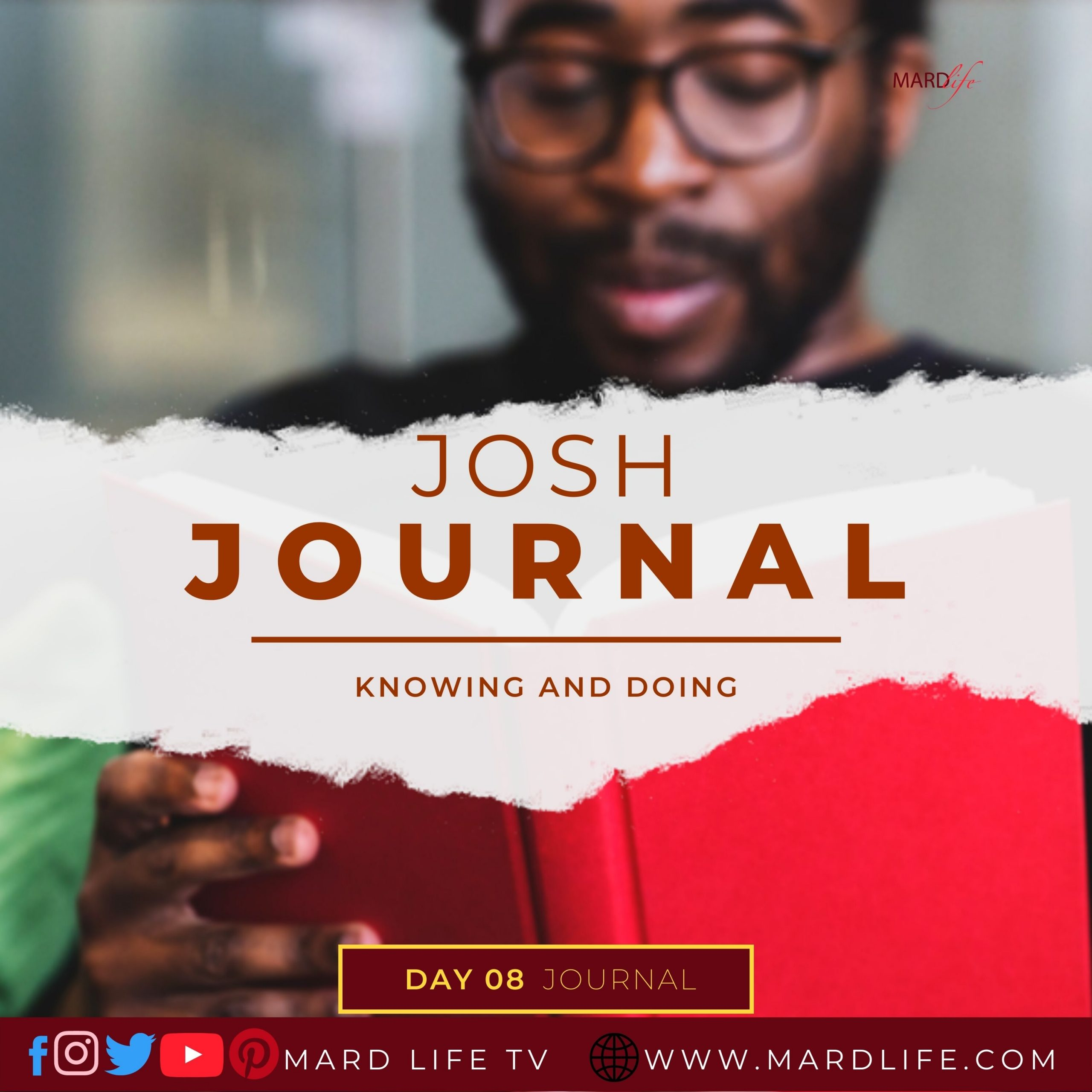 Knowing And Doing – Josh Journal