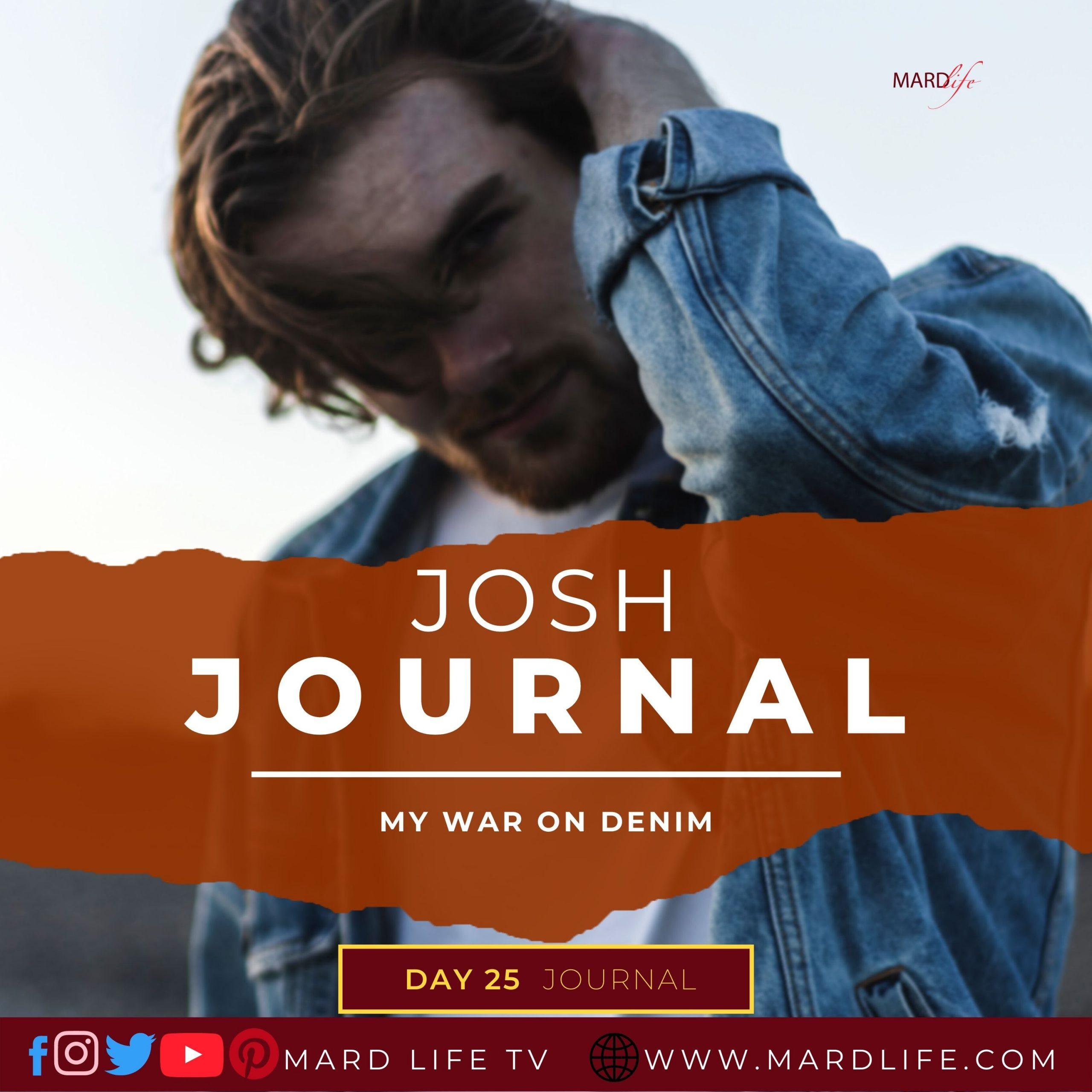 My War On Denim – Josh Journal