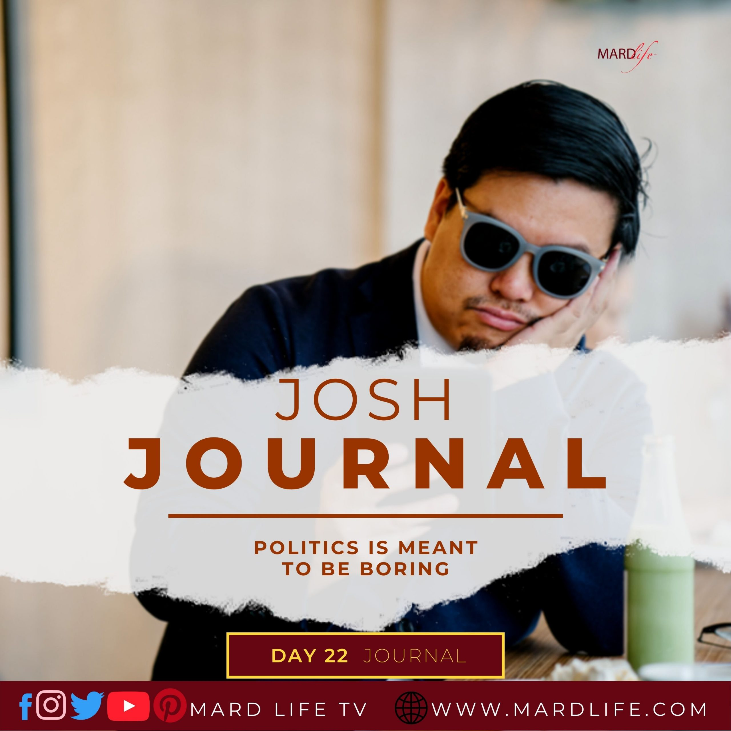 Politics Is Meant To Be Boring – Josh Journal