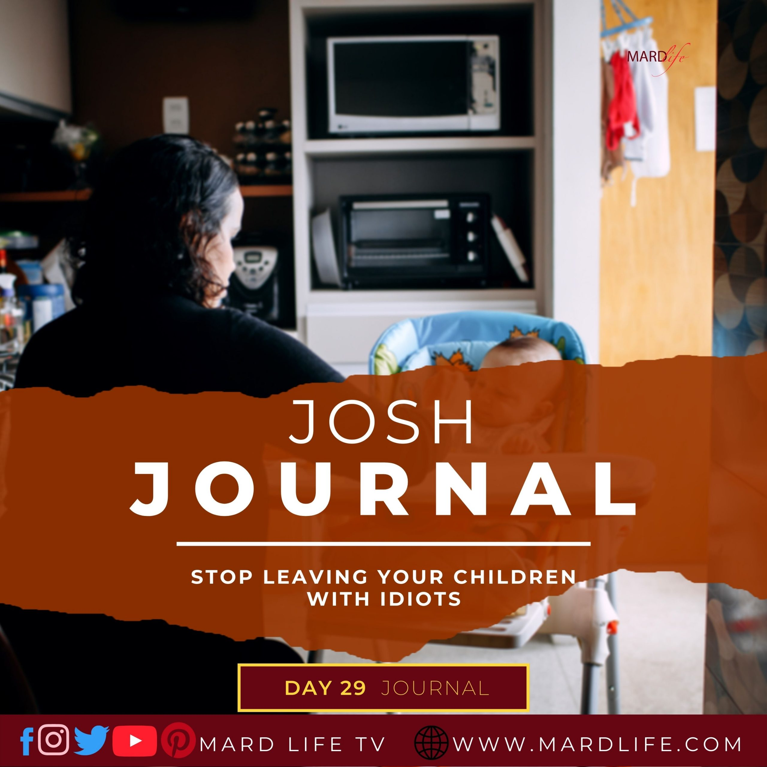 Stop Leaving Your Children With Idiots – Josh Journal