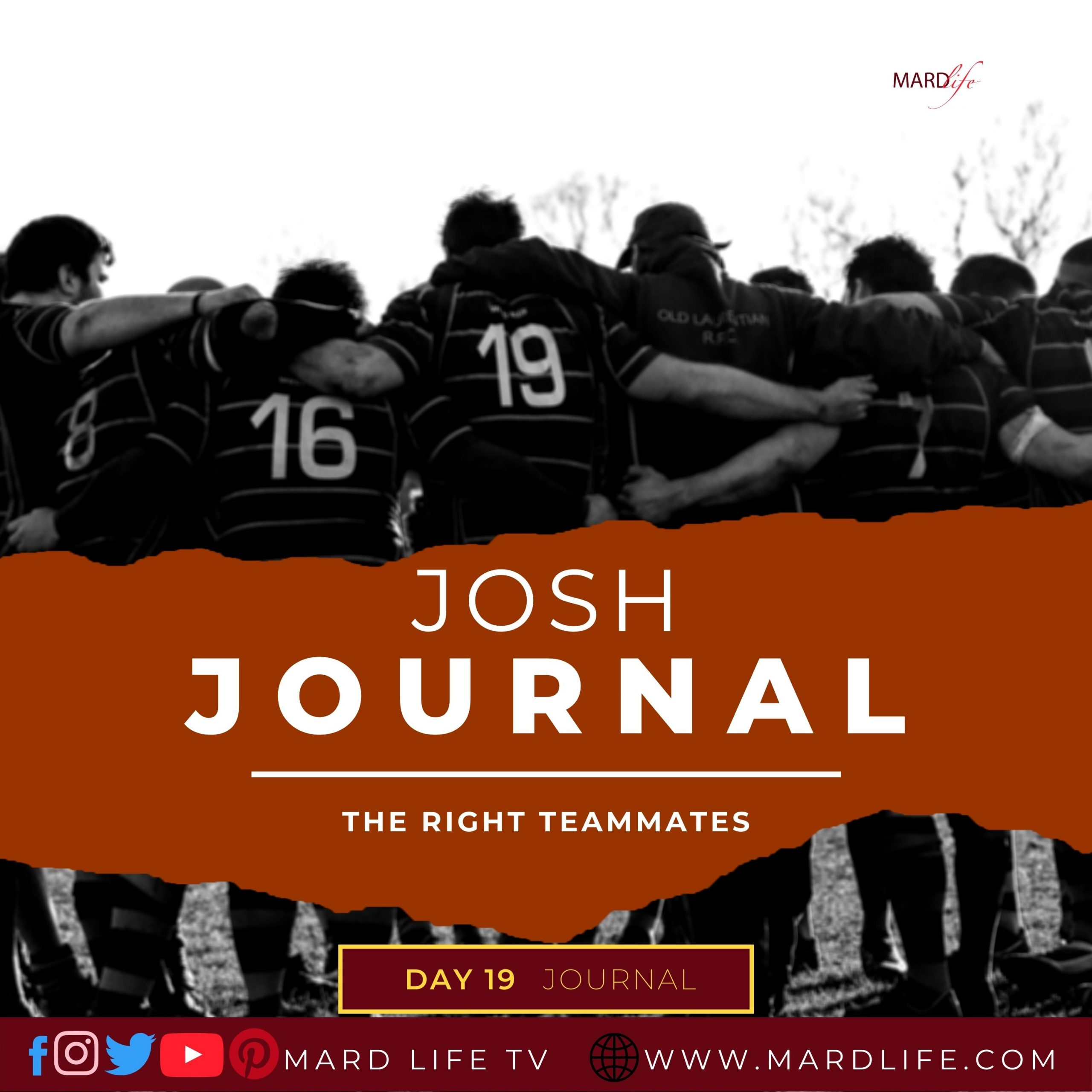 The Right Teammates – Josh Journal