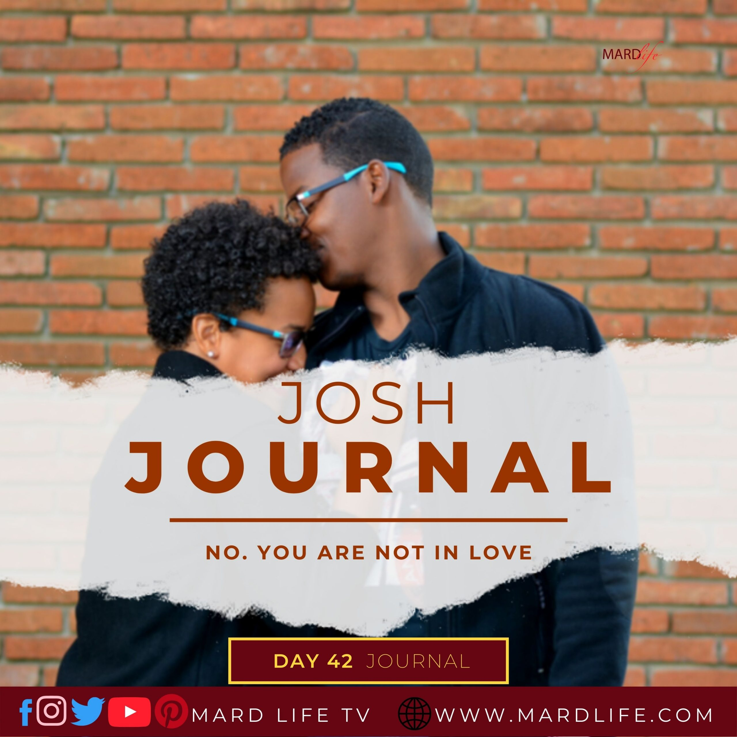No. You Are Not In Love – Josh Journal