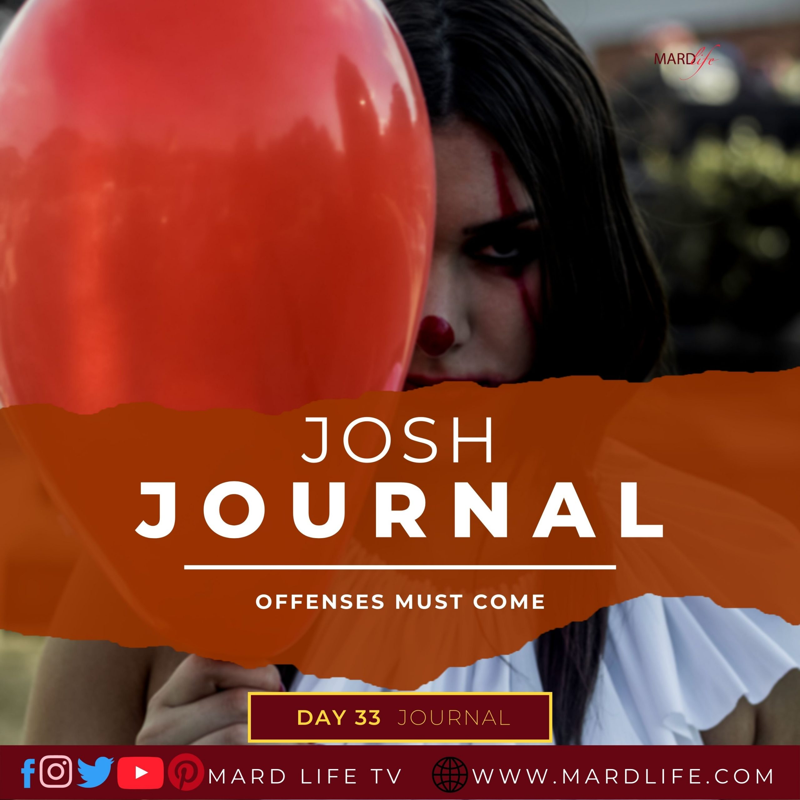 Offenses Must Come – Josh Journal
