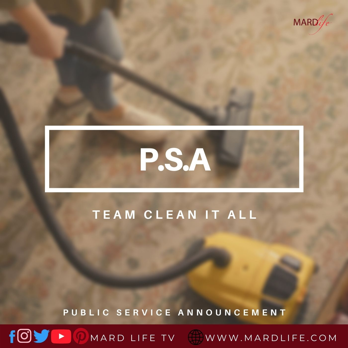 PSA: Team Clean It All