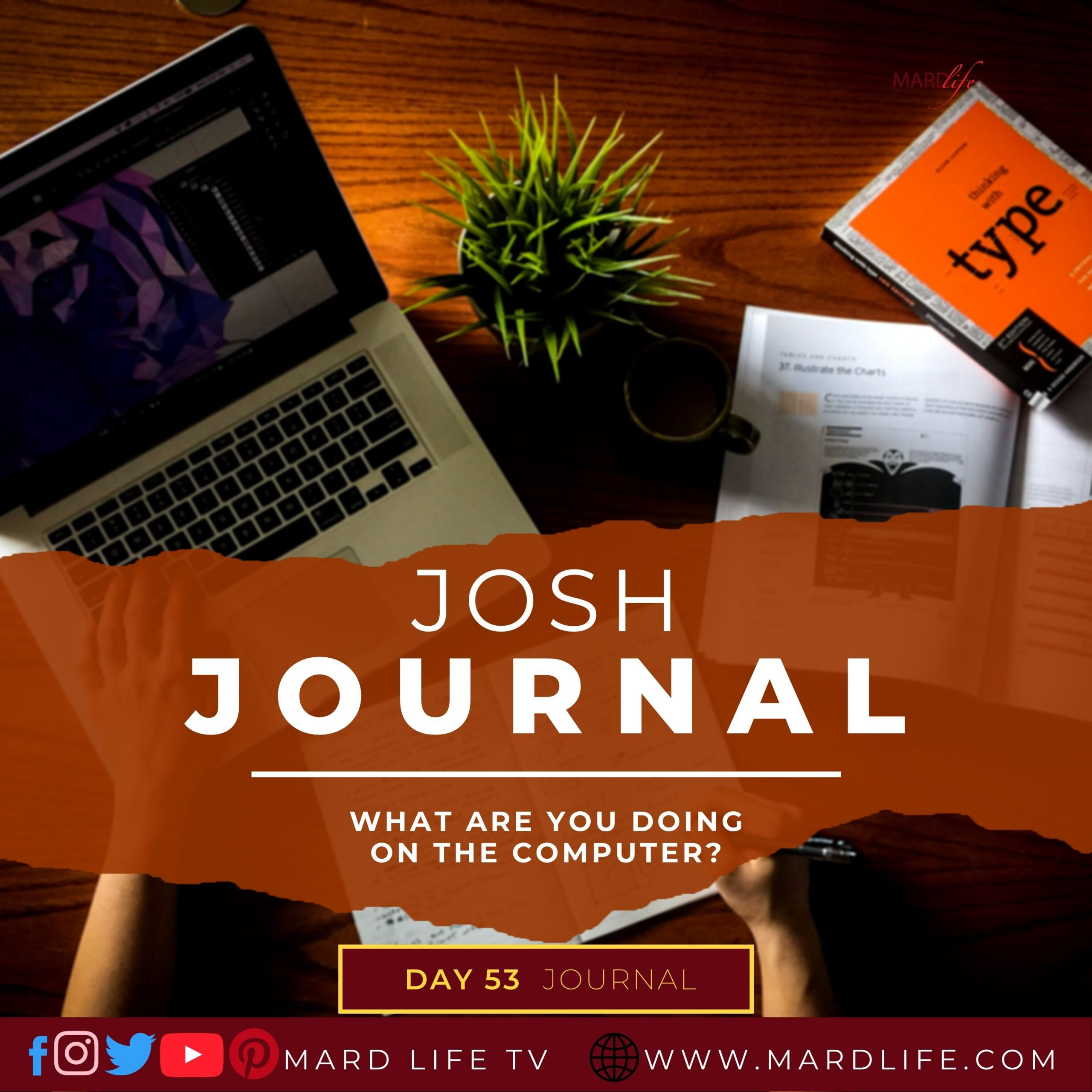 What Are You Doing On The Computer? – Josh Journal
