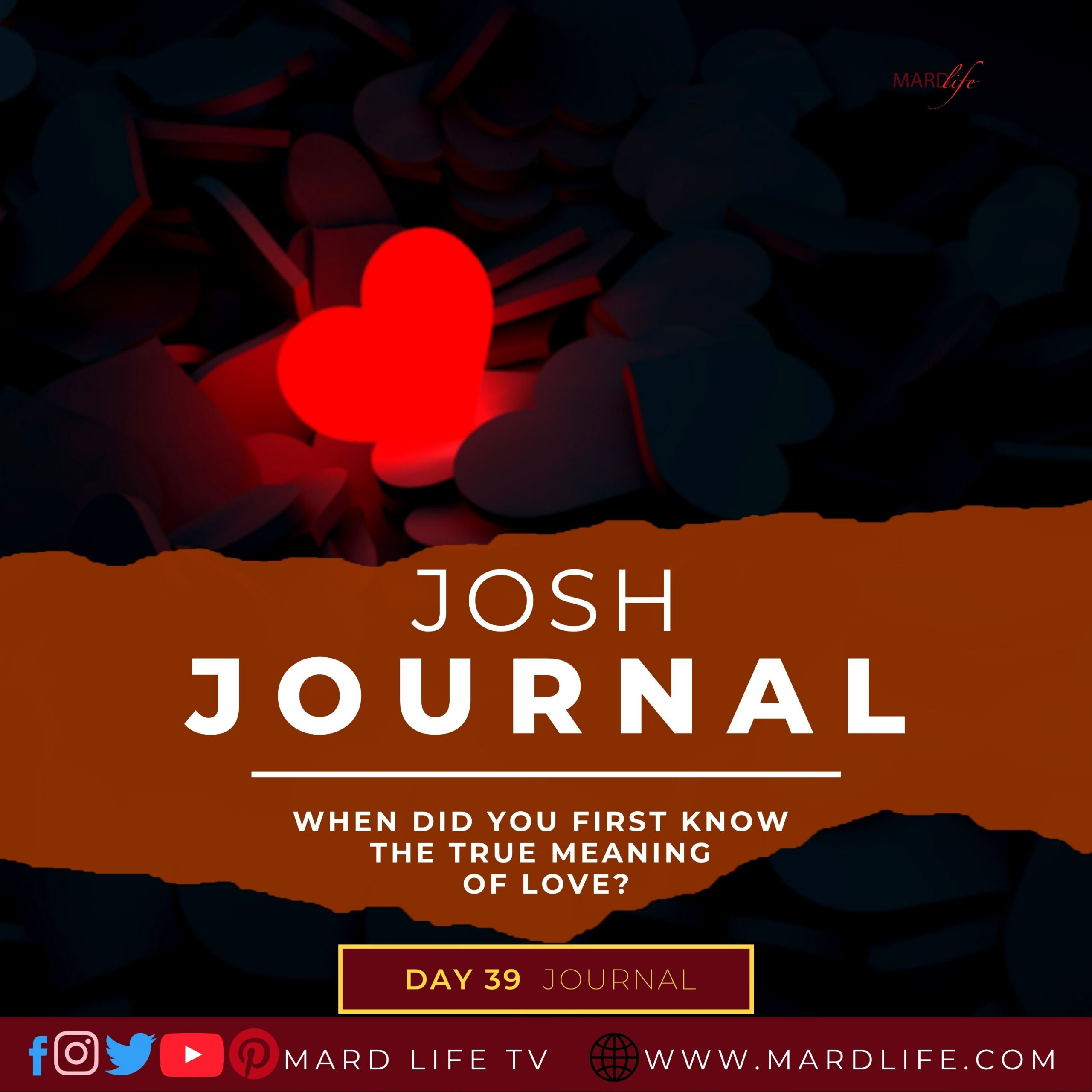 When Did You First Know The True Meaning Of Love? – Josh Journal