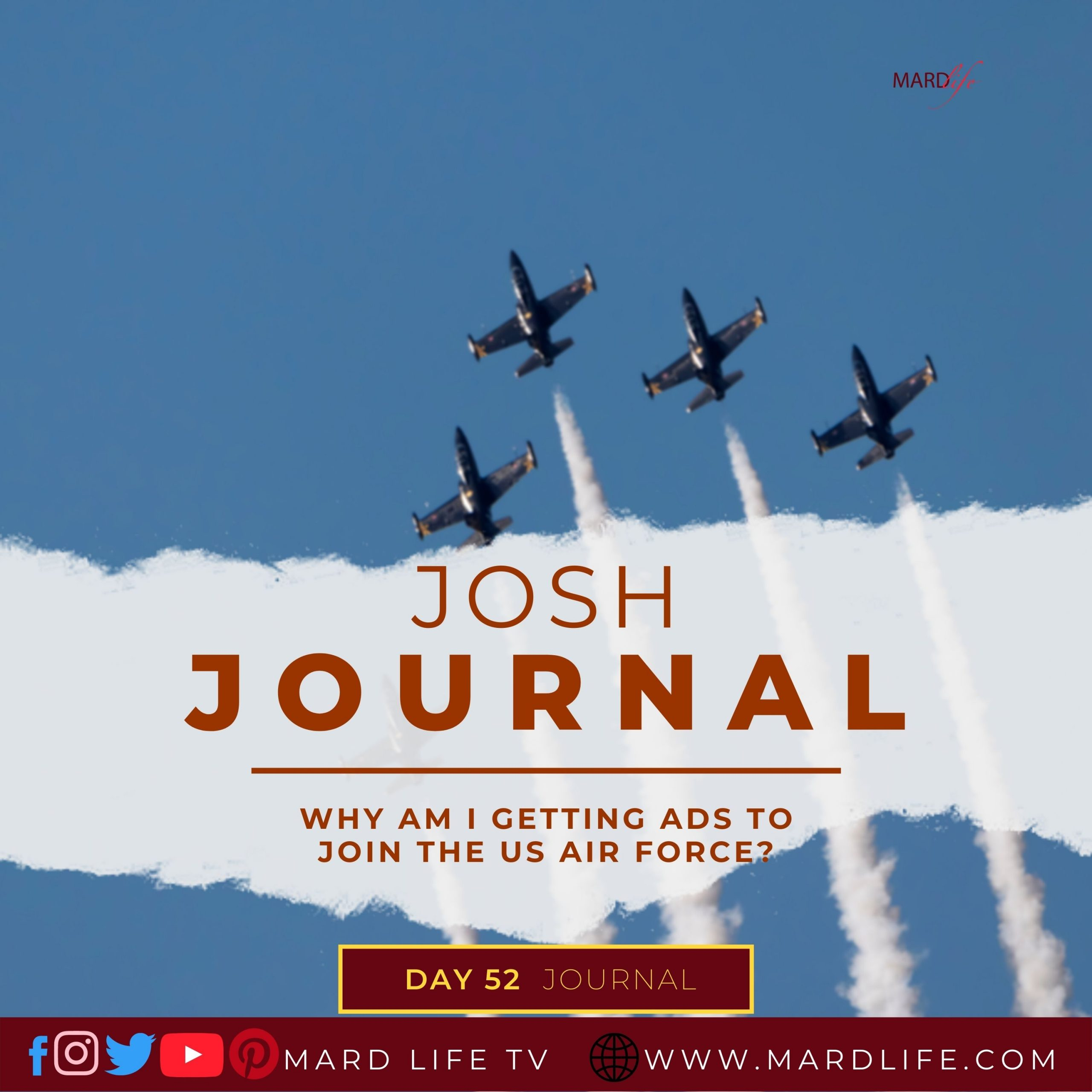 Why Am I Getting Ads To Join The US Air Force? – Josh Journal